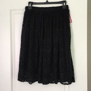 Small Xhilaration Black Skirt